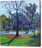 Autumn In The Arboretum Canvas Print