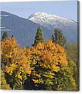 Autumn In The Illinois Valley Canvas Print
