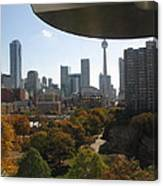 Autumn In Toronto Canvas Print