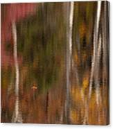 Autumn In Water Color Canvas Print