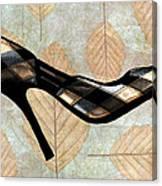 Autumn Leaves Stilettos Canvas Print