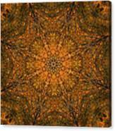 Autumn Mandala 2 Canvas Print