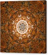 Autumn Mandala 3 Canvas Print
