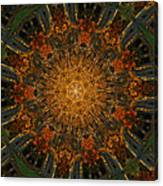 Autumn Mandala 6 Canvas Print