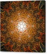 Autumn Mandala 8 Canvas Print