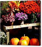 Autumn Market Canvas Print