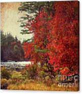 Autumn Of Yesteryear Canvas Print