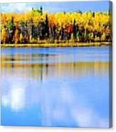 Autumn On Chena Lake Ll Canvas Print