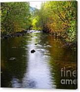 Autumn On Satus Creek  Canvas Print