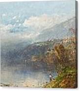 Autumn On The Androscoggin Canvas Print