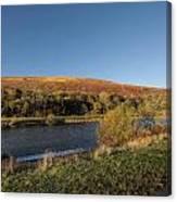Autumn Pond 9 Canvas Print