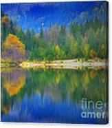 Autumn Reflected 2 Canvas Print