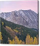 Autumn Rocky Mountains Canvas Print