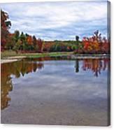 Autumn Shoreline Canvas Print