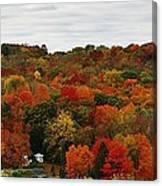 Autumn Spectacular Canvas Print