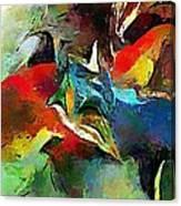 Autumn Streamside 030212 Canvas Print