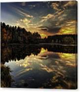 Autumn Sunset 2 Canvas Print