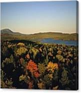 Autumn View Across Baxter State Park Canvas Print