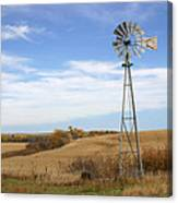Autumn Windmill Canvas Print