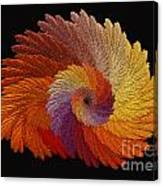 Autumn's Colorwheel Canvas Print
