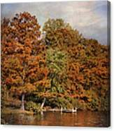 Autumn's Edge Canvas Print
