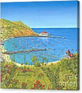 Avalon Catalina Island Canvas Print