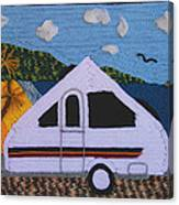 A'van By The Sea Canvas Print