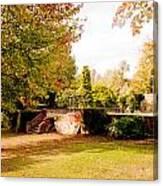 Avery Hill Rose Garden Canvas Print