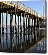 Avila Beach Pier California 2 Canvas Print