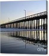 Avila Beach Pier California 3 Canvas Print