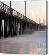 Avila Beach Pier California 5 Canvas Print