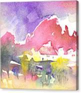 Awakening On Planet Goodaboom Canvas Print