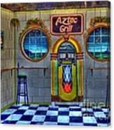 Aztec Grill Route 66 Canvas Print