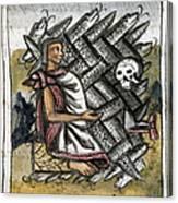 Aztec: Life And Death Canvas Print
