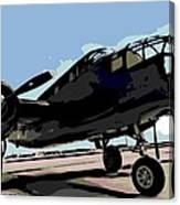 B-25 Bomber Canvas Print