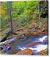 B Reynolds Falls Panorama Canvas Print
