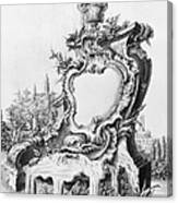 Babel: Fountain Canvas Print