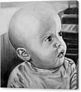 Baby Carter Canvas Print