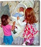Baby Dolls Canvas Print