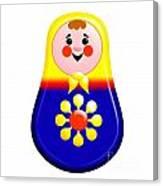 Baby Matrioshka Doll  Canvas Print