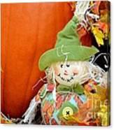 Baby Scarecrow Canvas Print