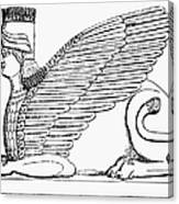 Babylonian Sphinx Canvas Print