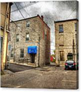 Back Alley Napanee Canvas Print