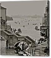 Back Door Of Venice Canvas Print