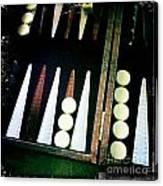 Backgammon Anyone Canvas Print