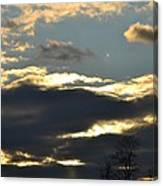 Backlit Clouds Canvas Print