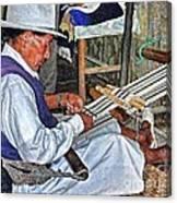 Backstrap Loom - Ecuador Canvas Print