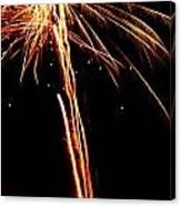 Backyard Fireworks 2012 3 Canvas Print