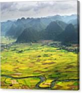 Bacson Valley Canvas Print