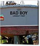Bad Boy 0118 Canvas Print